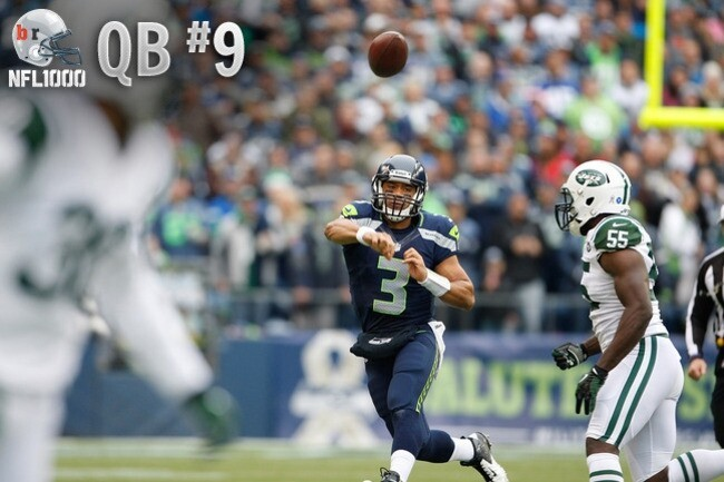 Top 10 Quarterbacks Based on the 2012 Season