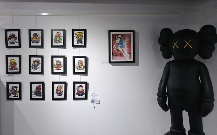 Street Fighter Art Show Tribute