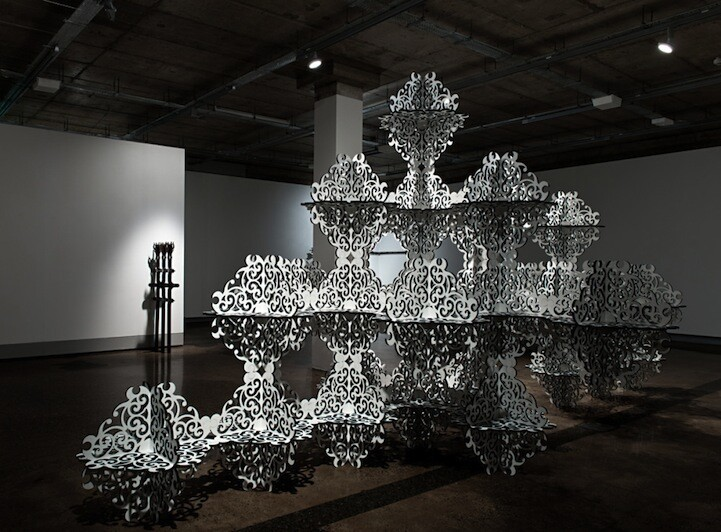 Beautifully Ornate Installations by Simeon Nelson