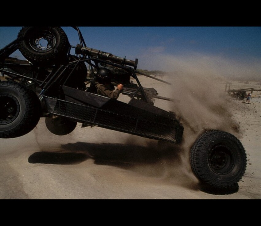 The Desert Patrol Vehicle-Fast Attack SEAL Buggy