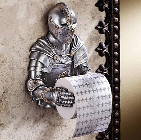 Toilet Paper Holders That Are Just A Bit Out There...