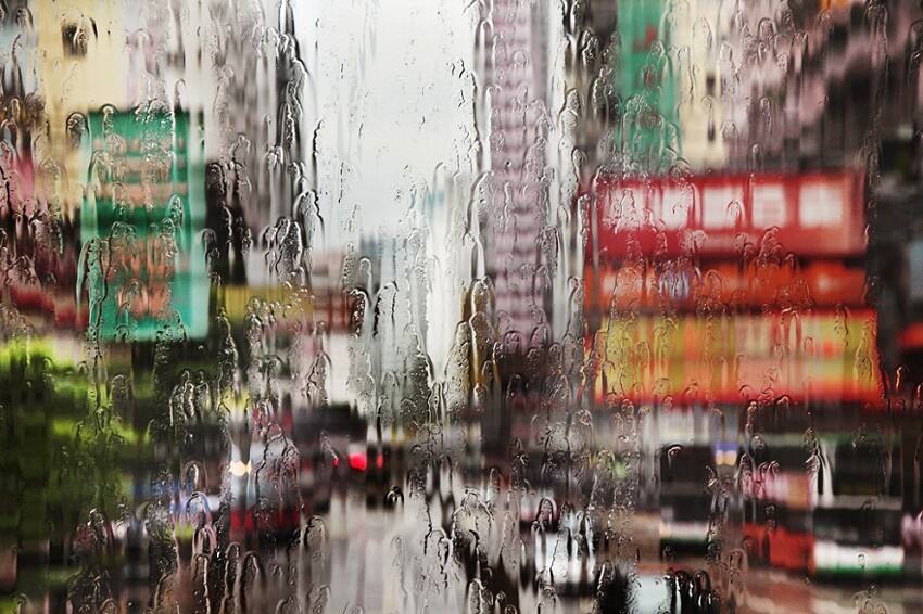 Concrete Charm in the Rain by Christophe Jacrot