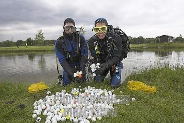 Professional Golf Ball Diver