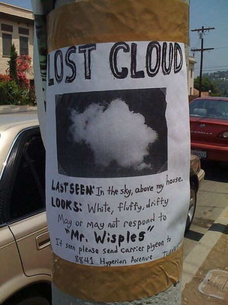 Funny Lost & Found Signs