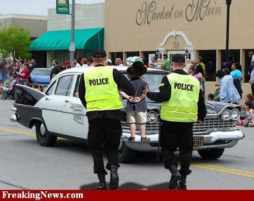 You Have a Right to Remain Silent, Funny Arrest Pics