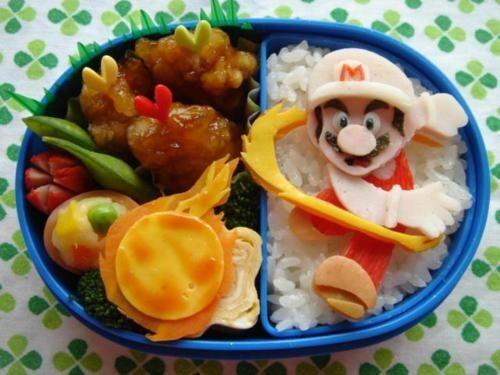 Bento Box Art with Game, TV, and Film Characters