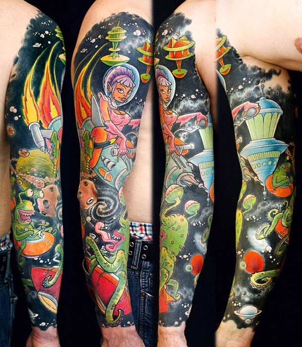 Exceptional And Intense Tattoos You Need To See