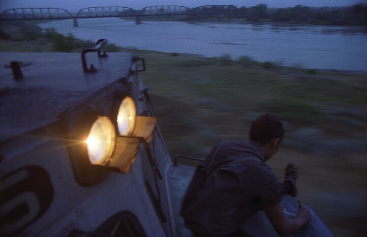 50,000 Miles of Nomadic Life on a Train