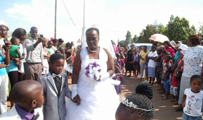 8-Year-Old Boy Marries 61-Year-Old Woman