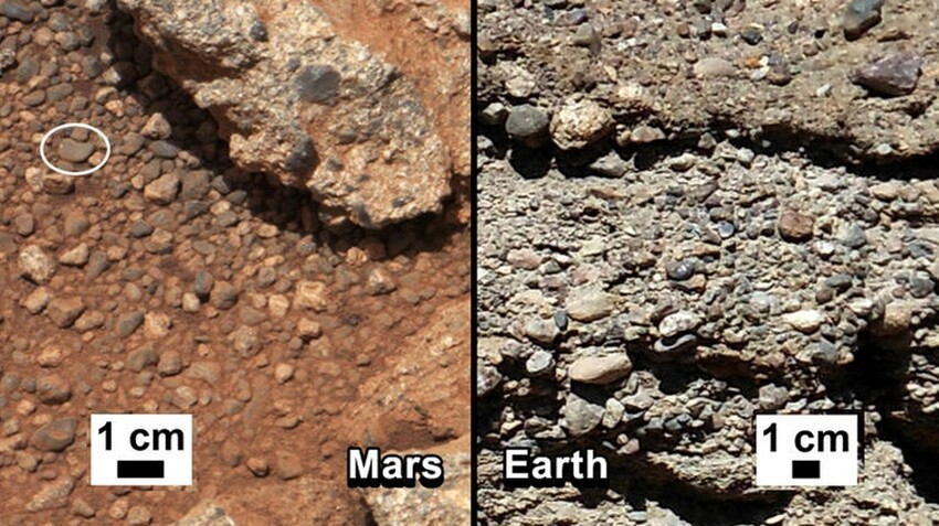 Curiosity Discovers An Ancient River Bed On Mars Implying Life!