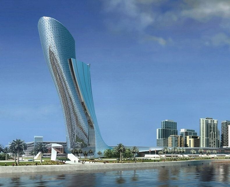 Capital Gate Building: The Leaning Tower of Abu Dhabi