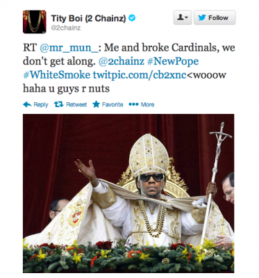 Diplo, Grimes, and El-P Tweet About the New Pope
