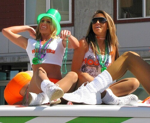 Sexy St. Patrick's Day Babes