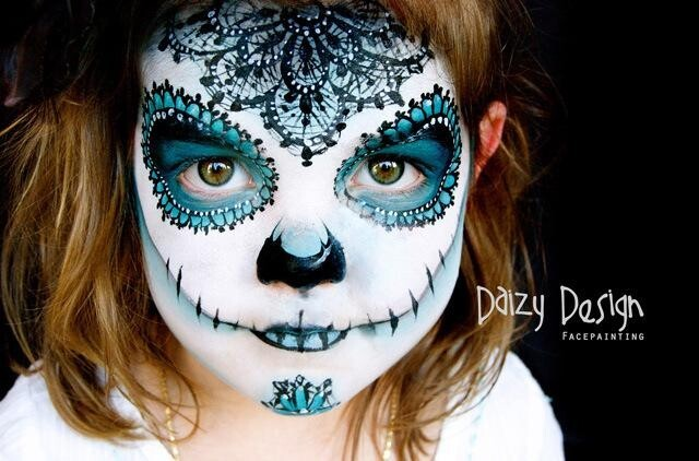 Gorgeous Face-Paint Art