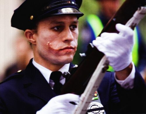 Heath Ledger Police Scene