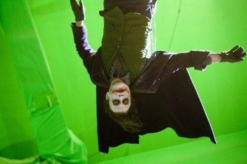 Heath Ledger, Hanging Green Screen