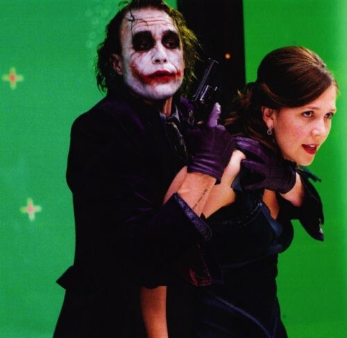 Heath Ledger And Maggie Gyllenhaal