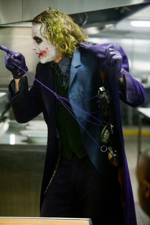 Heath Ledger Acting