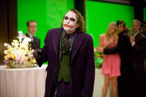 The Joker, Green Screen
