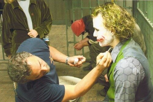 Heath Ledger Makeup