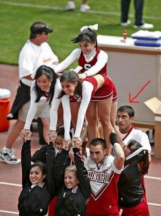 Male Cheerleader