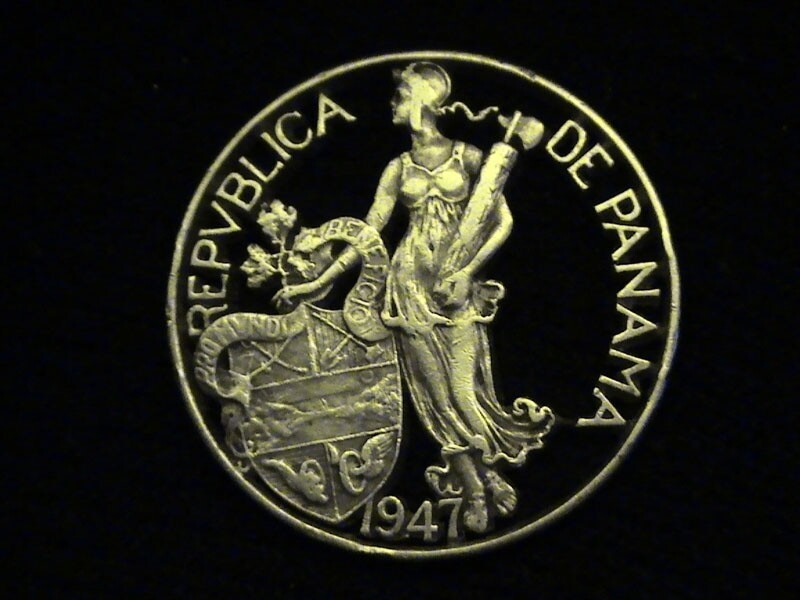 2. One Silver Dollar Coin – Panama, 1947