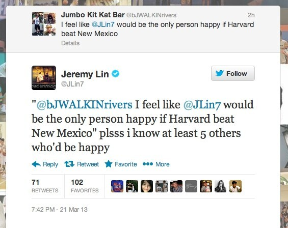 Lin got more and more into the game