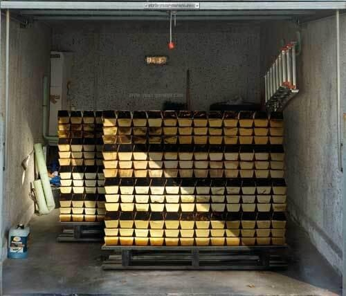 Gold Pallets