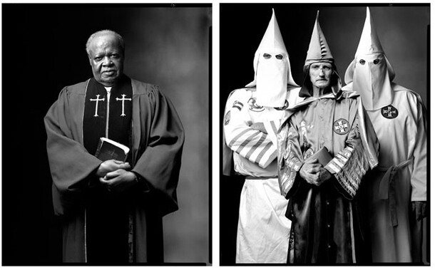 A Baptist Minister and Ku-Klux-Klan Members