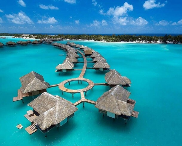 The Four Seasons Hotel – Bora-Bora