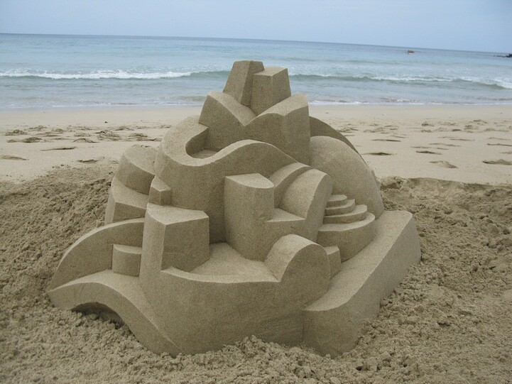Beautiful Sand Creation