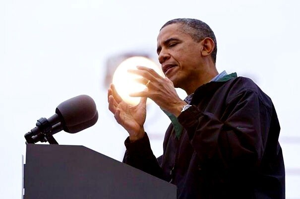 Obama Holds The power