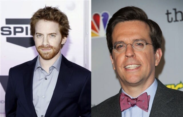 Seth Green and Ed Helms are both 39