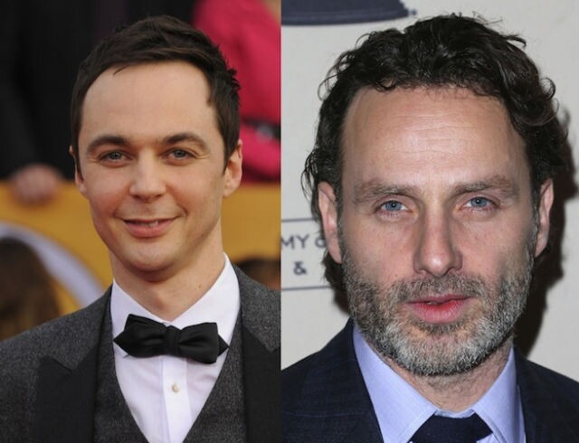 Jim Parsons and Andrew Lincoln are both 40