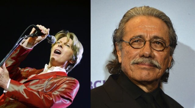 David Bowie and Edward James Olmos are both 66