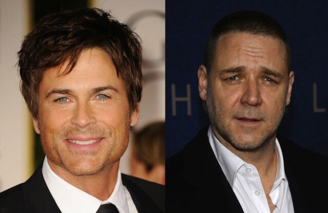 Rob Lowe and Russell Crowe are both 49