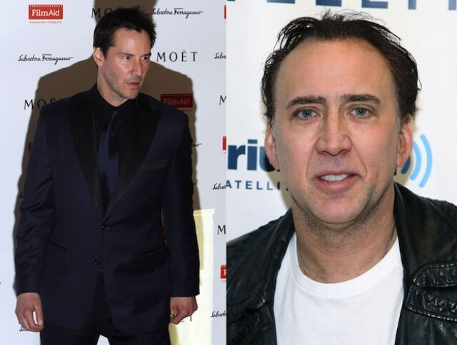 Keanu Reeves and Nicolas Cage are both 48