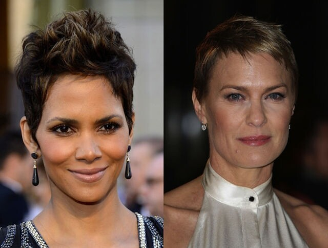Halle Berry and Robin Wright are both 46