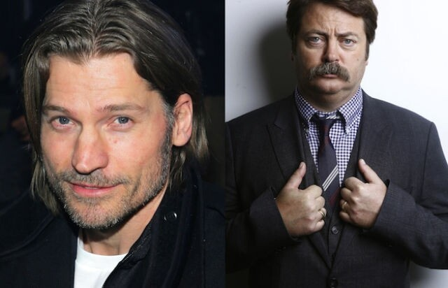 Nikolaj Coster-Waldau and Nick Offerman are both 42