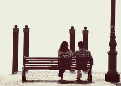 Together on a bench