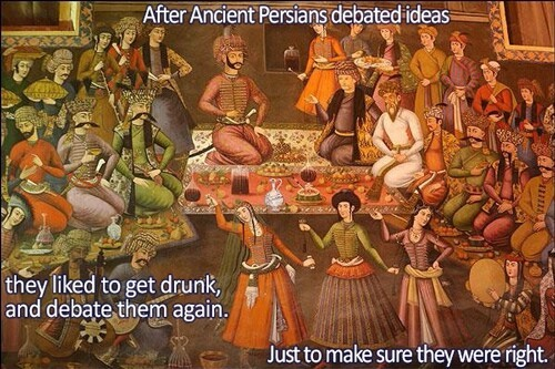 Drunk Persians