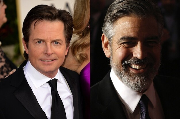 Michael J. Fox and George Clooney are both 51.