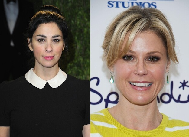 Sarah Silverman and Julie Bowen are both 42.