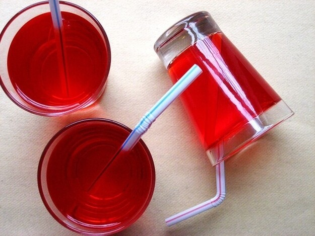 Jello makes an easy undrinkable drink