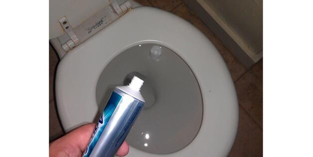 Toothpaste Cap Fell In Toilet