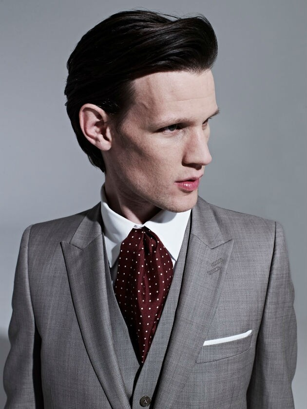 Handsome man Matt Smith