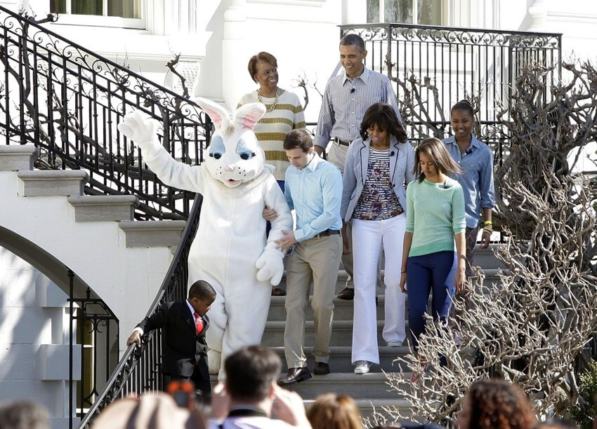 Easter day celebration at the white house