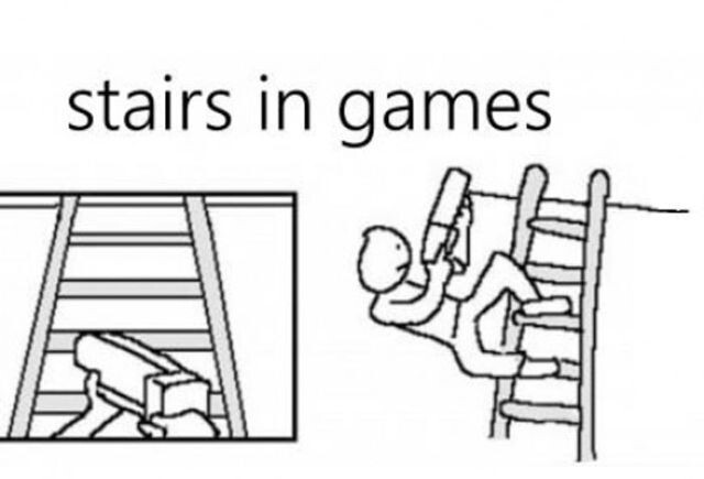 Stairs In Games