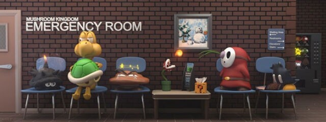 Mushroom Kingdom Emergency Room