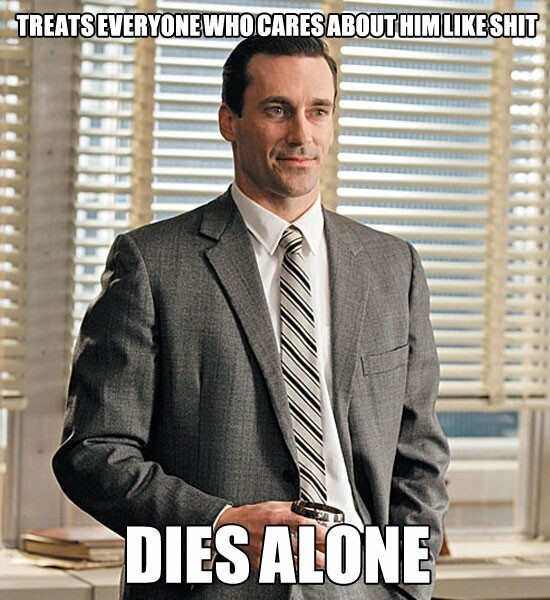The TV Character Don Draper In Real Life Meme